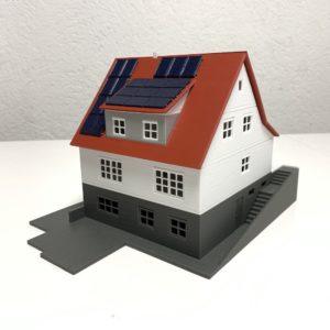 Ihr 3D-Haus / Maßstab 1:87 (H0-Spur)
